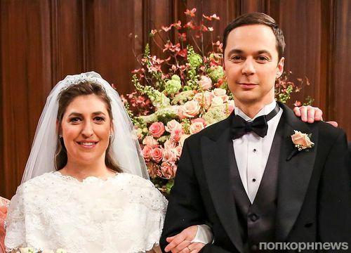 Первый кадр: свадьба Шелдона и Эми в финале 11 сезона «Теории большого взрыва»