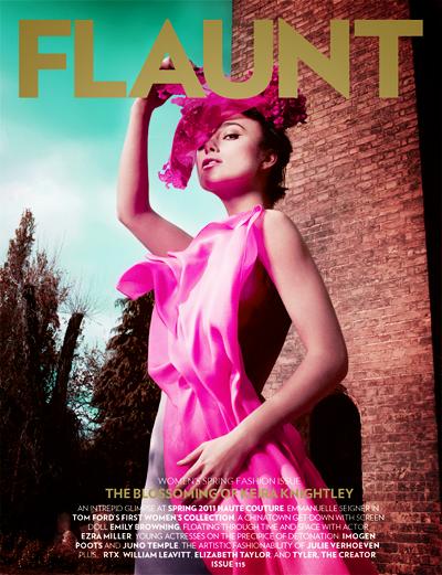 Кира Найтли в журнале Flaunt #115