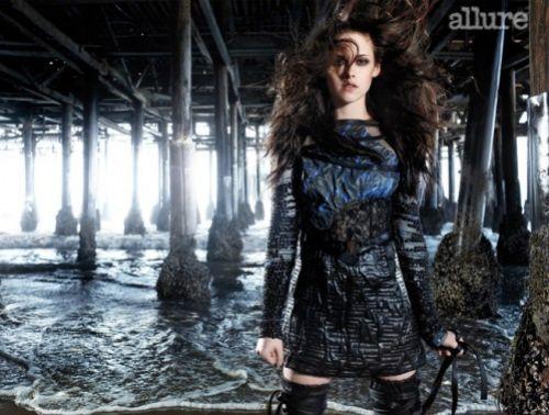 Видео: Кристен Стюарт на съемках журнала Allure