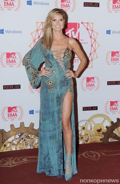 Церемония MTV EMA 2012