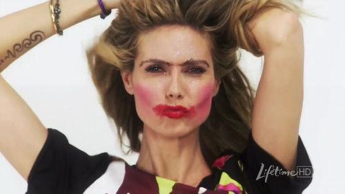 Хайди Клум доверила свое лицо юному визажисту
