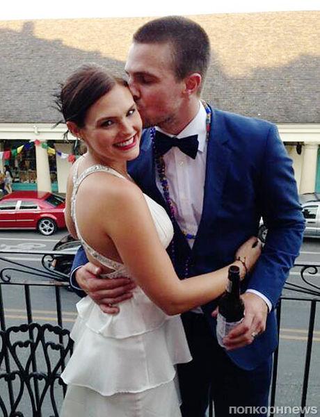 Стивен Амелл и Кассандра Джин поженились во второй раз