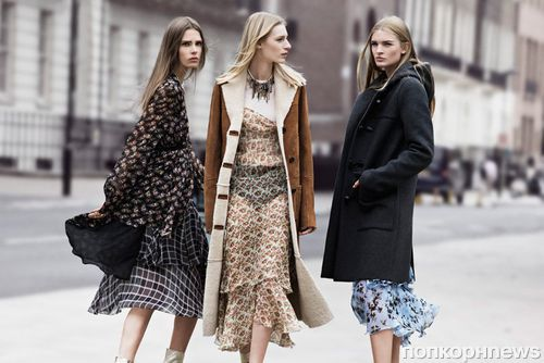 Рекламная кампания Zara TRF. Осень / зима 2013-2014