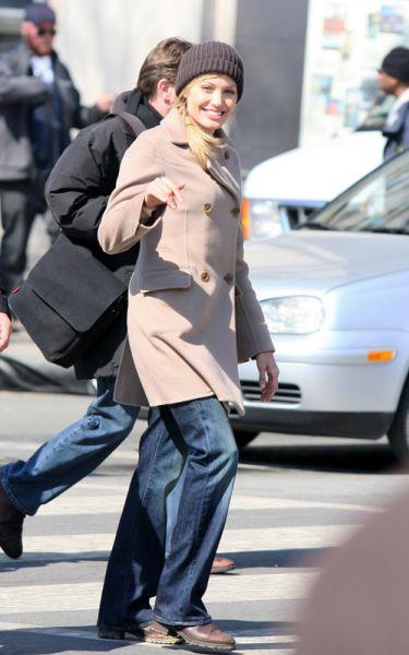 """Анджелина Джоли: еще один съемочный день фильма """"Солт"""""""