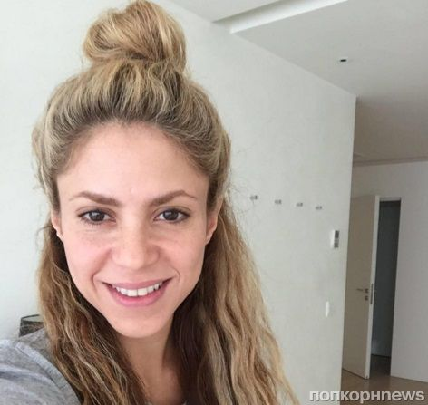 Шакира отметила 39-летие селфи без макияжа