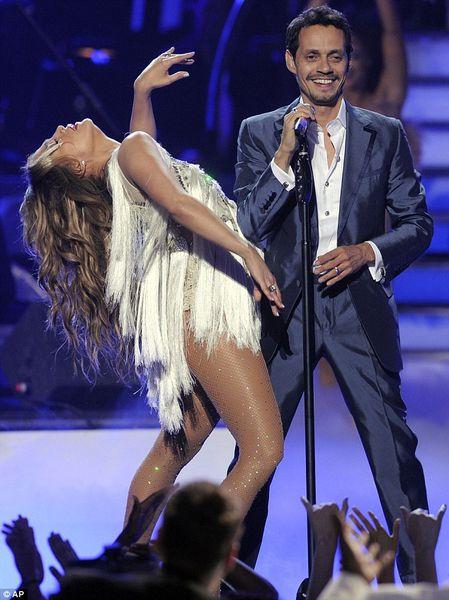 Выступление Дженнифер Лопес и Марка Энтони на шоу American Idol