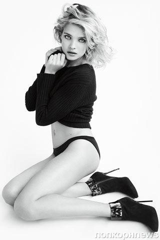 Наталья Водянова в рекламной кампании Stuart Weitzman. Осень / зима 2012-2013