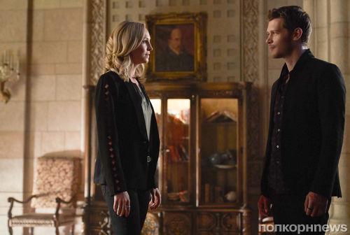 Первые фото: Кэролайн и Клаус воссоединяются в 5 сезоне «Древних»