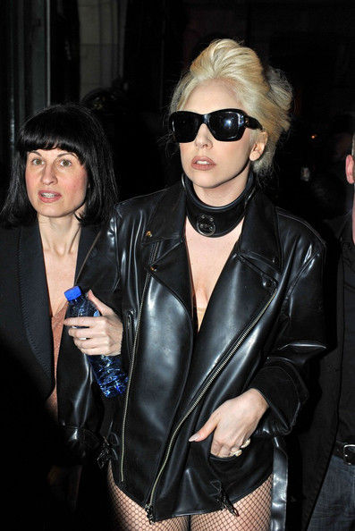 Lady Gaga морозы нипочем