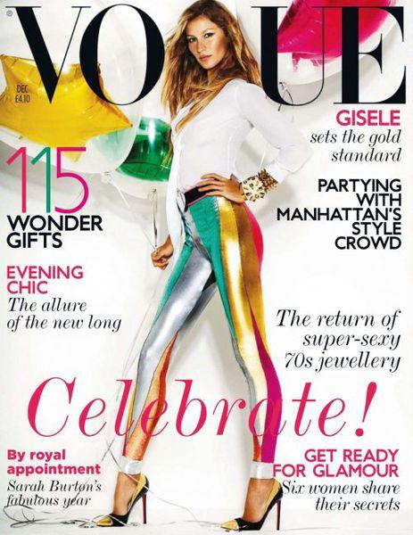 Жизель Бундхен в журнале Vogue. Декабрь 2011