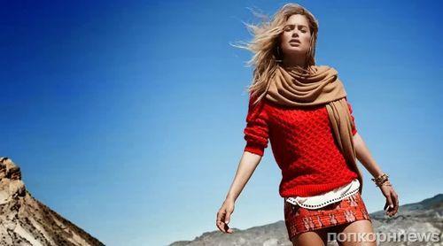 Даутцен Крез в рекламной кампании H&M. Зима 2013-2014