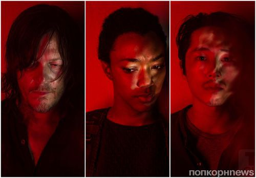 Создатели «Ходячих мертвецов» представили «портретную галерею» к 7 сезону