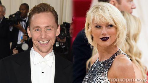 Тейлор Свифт привела Тома Хиддлстона на концерт Селены Гомес