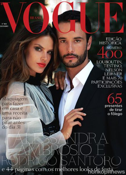 Алессандра Амбросио в журнале Vogue Бразилия. Декабрь 2011