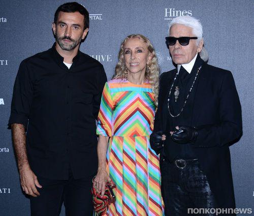 Звезды на вечеринке Vogue Италия в Милане