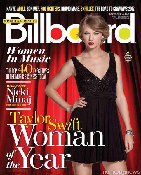 Тэйлор Свифт в журнале Billboard. Декабрь 2011