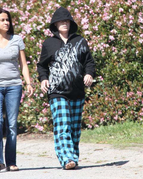Беременная Пинк предпочитает носить одежду своего мужа