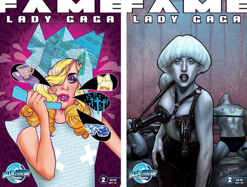 Второе издание комикса о Lady Gaga