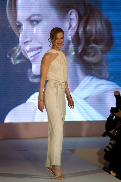 Николь Кидман представила новые часы Omega Ladymatic