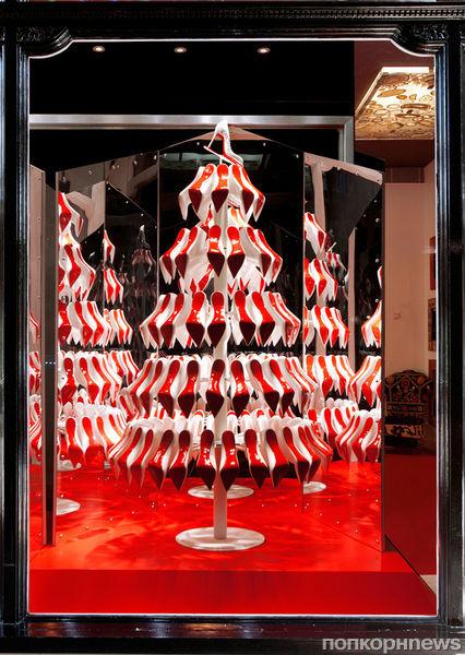 Рождественская елочка от Кристиана Лубутена