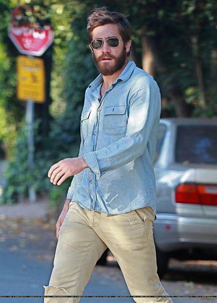 Джейк Джилленхол: носить бороду модно?