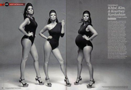 Сестры Кардашиан пародируют Single Ladies в журнале People