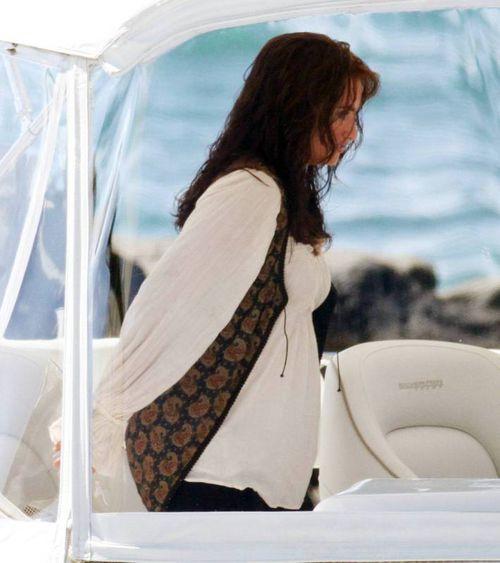 Съемки «Пиратов Карибского моря». Пенелопа Крус 100% беременна