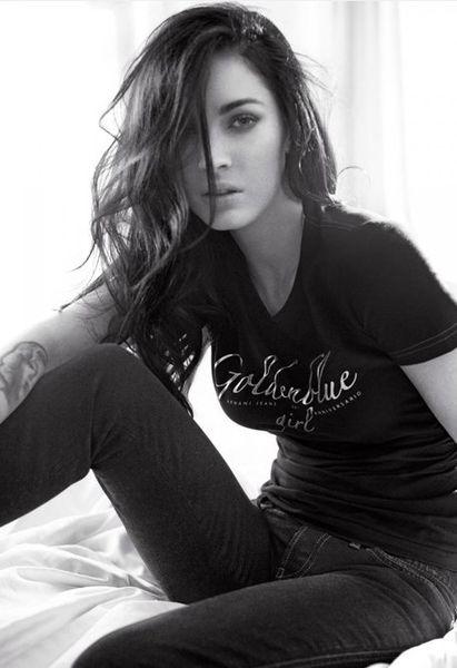 Меган Фокс в рекламе Armani Jeans Fall/Winter 2010-2011