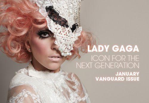 Lady GaGa в журнале 944