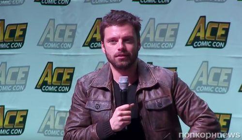 Себастиан Стэн, Крис Эванс и Энтони Маки поговорили о дружбе, Росомахе и «Войне бесконечности» на ACE Comic Con (видео)