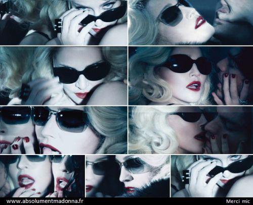 Мадонна выпускает солнцезащитные очки