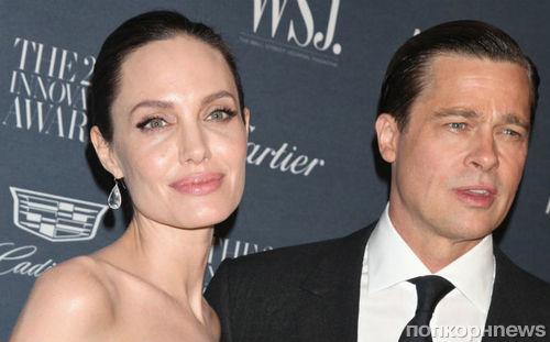 Брэд Питт отказался от суда и предоставил Анджелине Джоли опеку над детьми