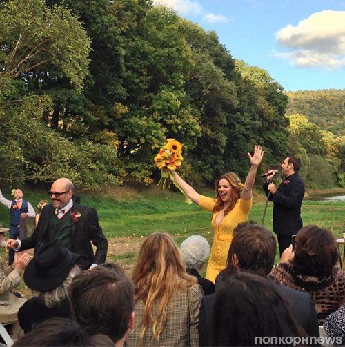 Свадебные фотографии Амбер Тэмблин и Дэвида Кросса