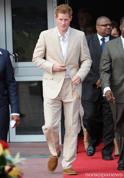 Принц Гарри на Ямайке