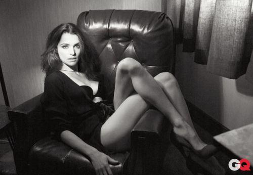 Рэйчел Вайс в журнале GQ. Январь 2010