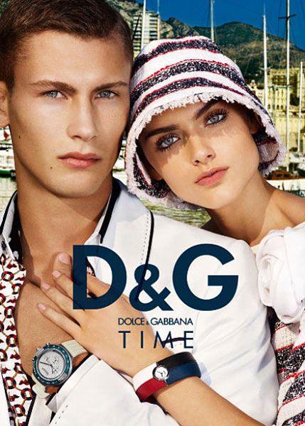Рекламные кампании весна / лето 2009 D&G и Roberto Cavalli