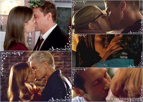 Топ 10 самых долгожданных «сериальных» поцелуев