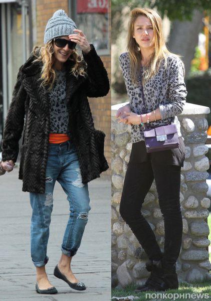 Fashion battle: Сара Джессика Паркер и Джессика Альба
