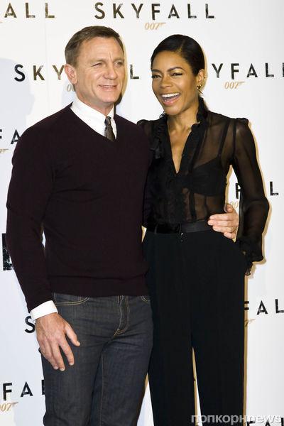 """Премьера и фотоколл фильма """"007: Координаты «Скайфолл»"""" в Риме"""