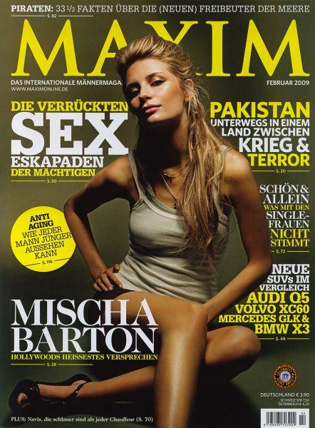 Миша Бартон в журнале Maxim. Германия. Февраль 2009