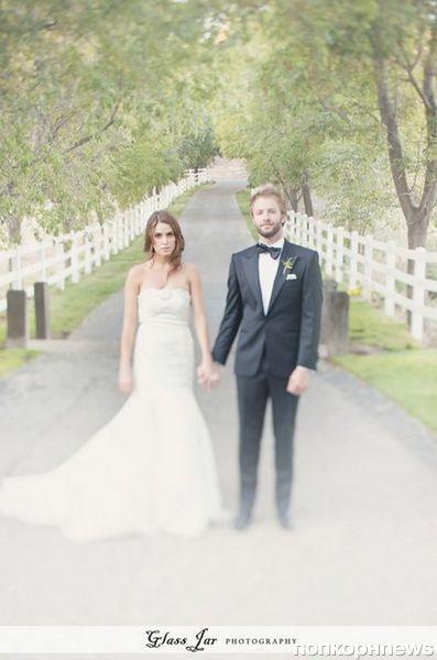 Свадебные фотографии Никки Рид и Пола МакДональда