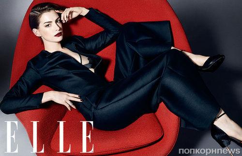 Updated: Энн Хэтэуэй в журнале Elle Великобритания. Ноябрь 2014