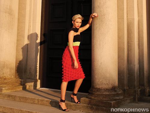 Майли Сайрус в журнале Harper's Bazaar. Сентябрь 2013