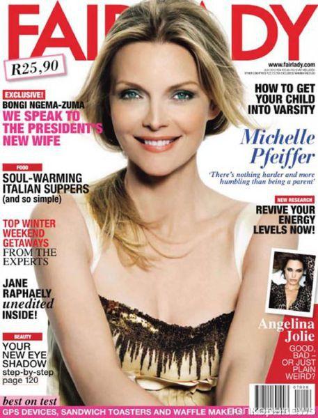 Мишель Пфайффер в журнале Fairlady. Июль 2012