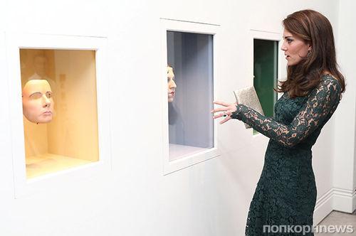 Кейт Миддлтон посетила гала-прием Национальной портретной галереи