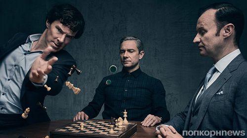 """5 сезон """"Шерлока"""" могут сорвать прохладные отношения Бенедикта Камбербэтча и Мартина Фримана"""