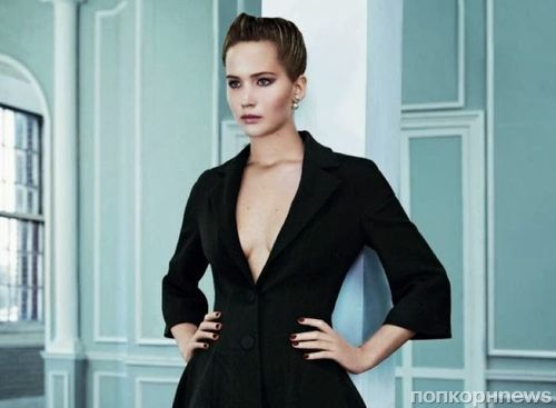 Дженнифер Лоуренс в журнале Elle. Октябрь 2013