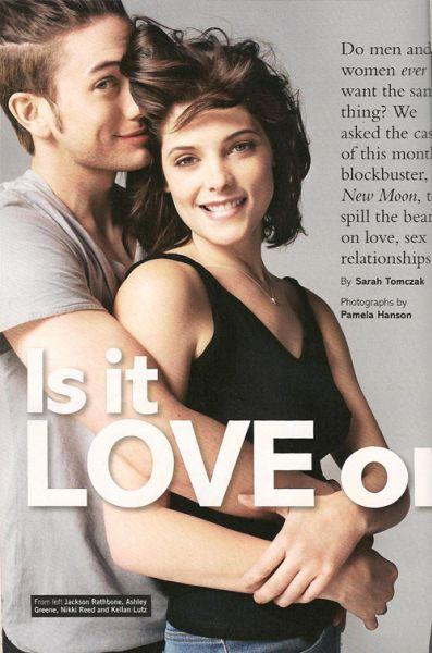 Вампирские пары в журнале Glamour. UK. Декабрь 2009