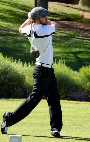 Джастин Тимберлейк гольфист