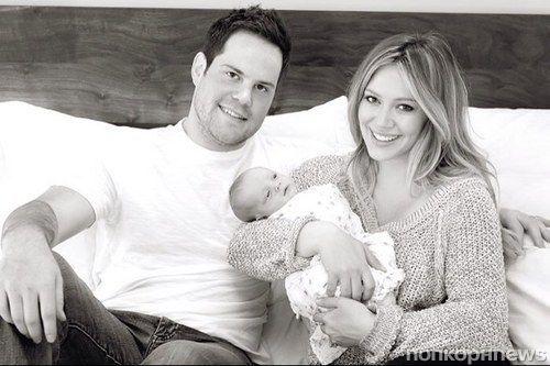 Хилари Дафф поделилась фото своей семьи